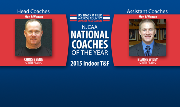 South Plains' Beene & Wiley Sweep Inaugural NJCAA National Coach of the Year Awards