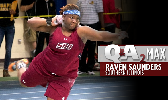 QA₂ Max PODCAST: Raven Saunders of Southern Illinois – Indoor Shot Put Champ