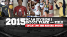 Updating the NCAA DI Indoor Record Books
