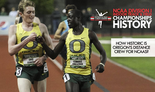 CHAMPIONSHIPS HISTORY: How Does Oregon's Five-Man 3000m Crew Stack Up Historically?