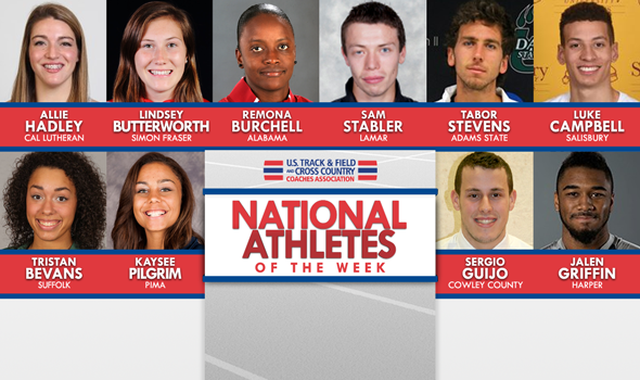 Easter Weekend National Athletes of the Week Announced