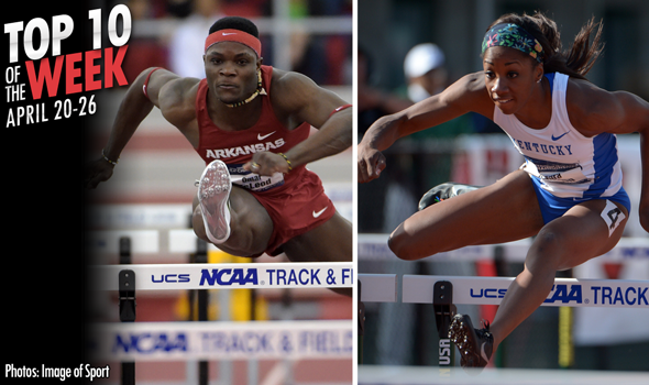 Best Marks of the College T&F Weekend: April 20-26