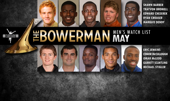 McCullough Added to May Edition of Men's Bowerman Trophy Watch List