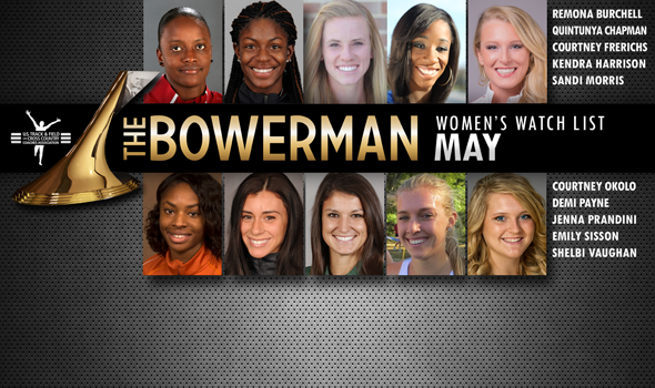 Significant Turnover in May Edition of Women's Bowerman Trophy Watch List