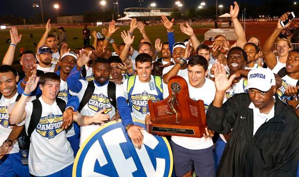 Florida and Texas A&M Lead Tight Men's Race Before NCAA Prelims