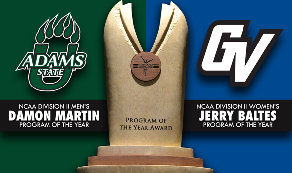 Adams State, GVSU Earn NCAA DII Program of the Year Awards