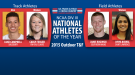 National Athletes of the Year for NCAA DIII Outdoor T&F Announced
