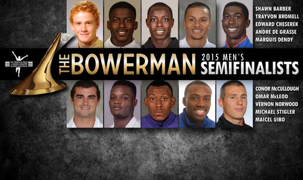 Men's Bowerman Trophy Semifinalists Announced