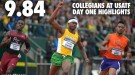 Blazing Bromell Headlines Collegiate Day 1 Efforts at USATF Outdoors