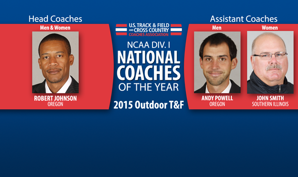 Robert Johnson, Andy Powell, and John Smith Named National Coaches of the Year
