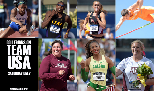 Seven More Collegians Qualify For IAAF World Championships at USATF Outdoors
