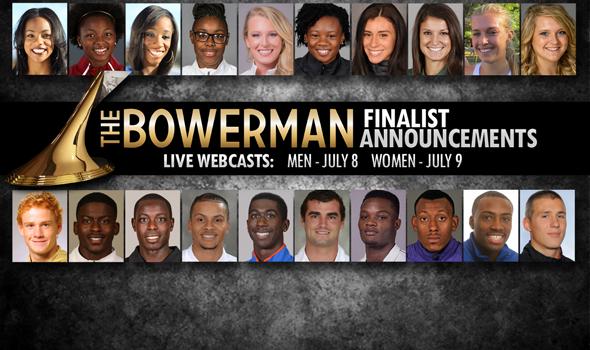 2015 Bowerman Finalists to Be Announced Via Live Webcast Next Week