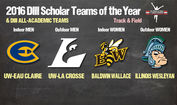 DIII Track & Field Scholar Teams of the Year & All-Academic Teams Announced