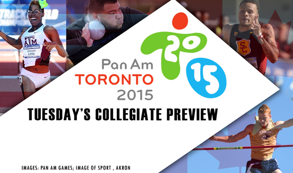 Collegians at the Pan Am Games Preview – Tuesday