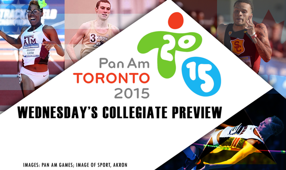 Collegians at the Pan Am Games Preview – Wednesday