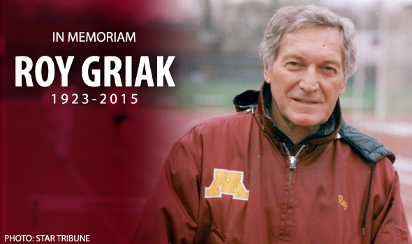 Remembering USTFCCCA Hall of Fame Coach Roy Griak (1923-2015)