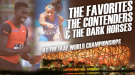 IAAF World Championships: The Favorites, The Contenders & The Dark Horses