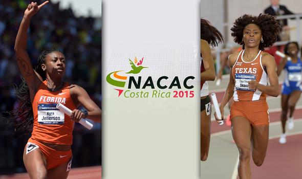 Okolo & Jefferson Lead Collegians at NACAC Championships