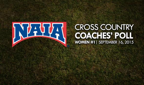 NAIA Women's Cross Country Coaches' Top 25 Poll – Week 1