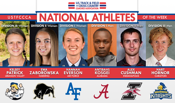 First National Athletes of the Week Named for 2015 XC Season
