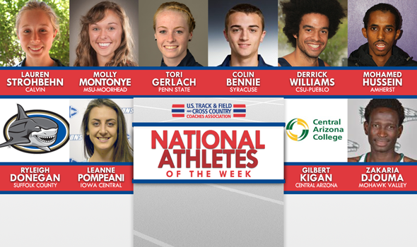 Collegiate XC National Athletes of the Week Include 1st NJCAA Honorees