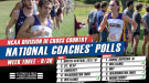 Movement in Men's and Women's DIII National Coaches' Poll