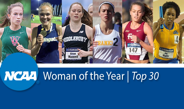 Six Track & Field/Cross Country Athletes Among NCAA Woman of the Year Top 30