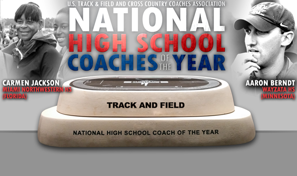 Berndt, Jackson Named USTFCCCA National High School Track & Field Coaches of the Year