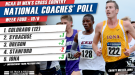 First Big Shake-Up of 2015 Rocks Men's DI National Coaches' Poll