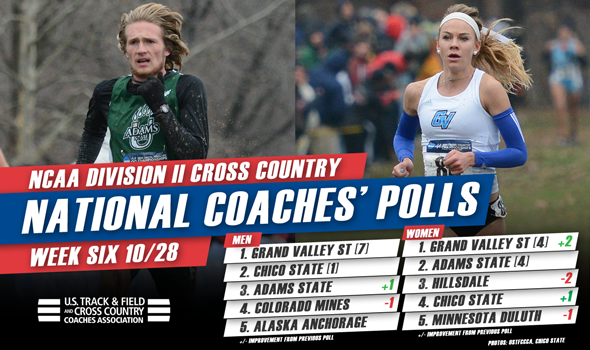 GVSU Men & Women Top Latest NCAA DII National Coaches' Polls