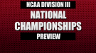 NCAA Division III XC Championships Preview