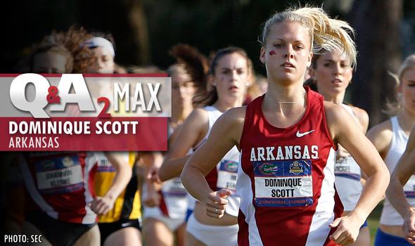QA2 Max Podcast: Arkansas' Dominique Scott Talks About XC, Track