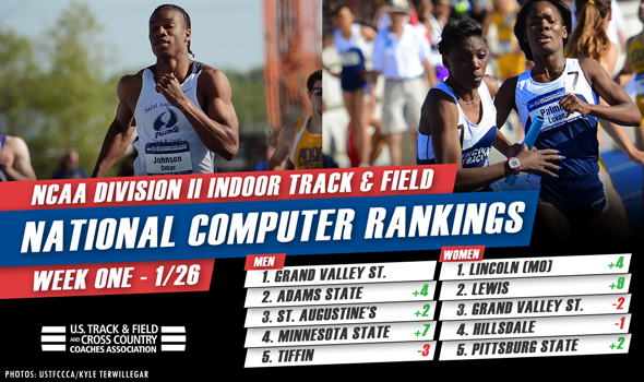 First NCAA DII Rankings of New Year Announced