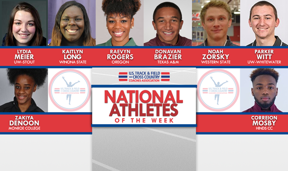 Fourth Batch of NCAA & NJCAA ITF National Athletes of the Week