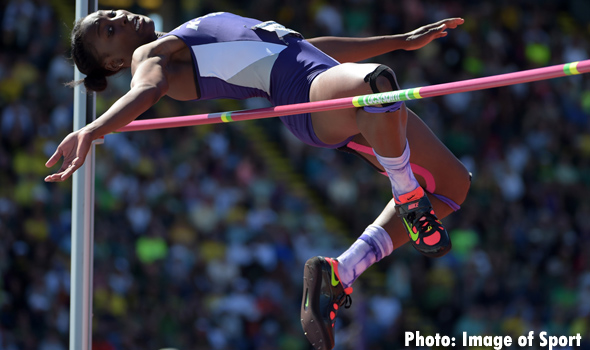 Akela Jones Narrowly Misses College Pentathlon Record