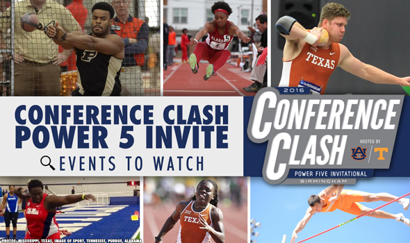 Meet Preview: Conference Clash – Power Five Invitational