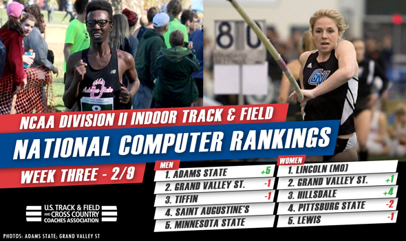 Familiar Face Reclaims Top Spot in NCAA DII National Rankings