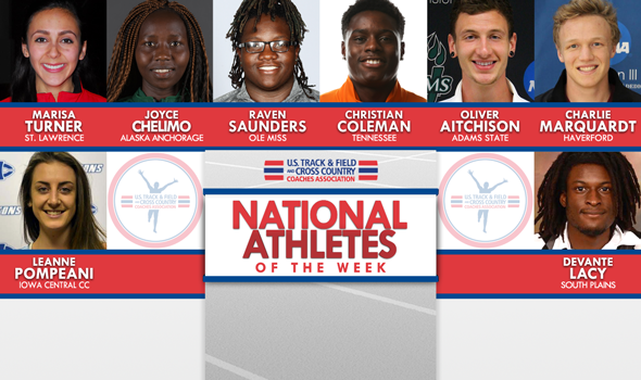 NCAA & NJCAA ITF National Athletes of the Week Set Collegiate Records