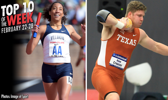 Best Marks of the College T&F Weekend: February 22-28, 2016
