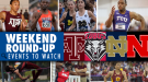 WEEKEND ROUND-UP: Events And Match-Ups To Watch Around The Nation