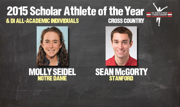 NCAA DI Cross Country Individual Academic Awards – 2015