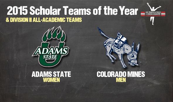 NCAA DII Cross Country Team Academic Awards – 2015