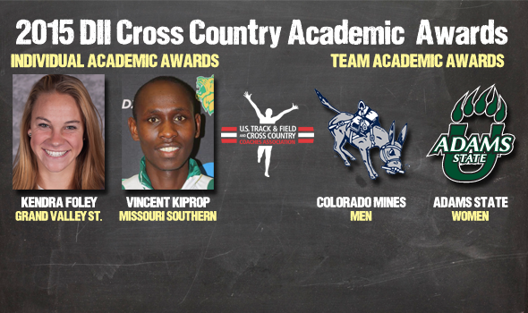 NCAA Division II Cross Country Academic Awards – 2015