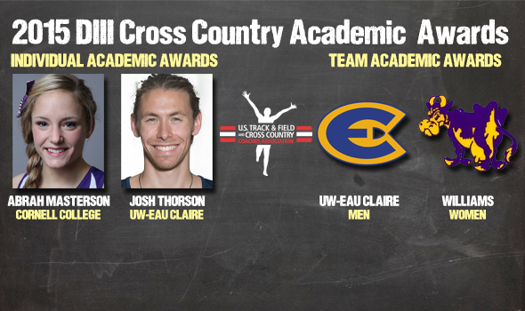NCAA Division III Cross Country Academic Awards – 2015