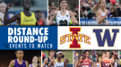 WEEKEND PREVIEW: Red-Hot Distance Action at Iowa State & Washington