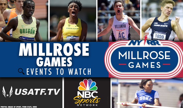 WEEKEND PREVIEW: Top Collegians at NYRR Millrose Games