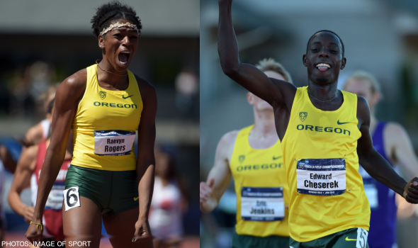 Oregon's Cheserek & Rogers Make History at Millrose Games