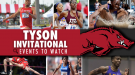 WEEKEND PREVIEW: Tyson Invitational