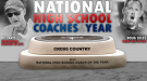 Aris, Soles Named National High School Cross Country Coaches of the Year