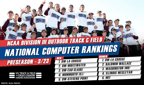 UW-La Crosse Men & Women Headline First NCAA DIII Outdoor Rankings